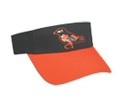 Baltimore Orioles - Official MLB Visor for Little Kids Softball League Orioles-Visors