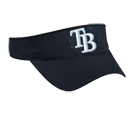 Tampa Bay Rays - Official MLB Visor for Little Kids Softball League Rays-Visors