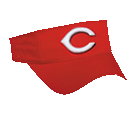 Cincinnati Reds - Official MLB Visor for Little League Softball Cincinnati Reds - 175