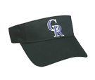 Colorado Rockies - Official MLB Visor for Little Kids Softball League Rockies-Visors