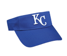 Kansas City Royals - Official MLB Visor for Little Kids Softball League Royals-Visors