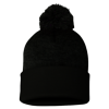 Sportsman_Pom_Pom_Knit_Cap_SP15_Black