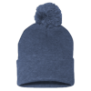 Sportsman_Pom_Pom_Knit_Cap_SP15_Heather_Navy
