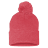 Sportsman_Pom_Pom_Knit_Cap_SP15_Heather_Red
