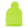 Sportsman_Pom_Pom_Knit_Cap_SP15_Neon_Yellow