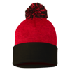 Sportsman_Pom_Pom_Knit_Cap_SP15_Red_Black