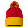 Sportsman_Pom_Pom_Knit_Cap_SP15_Red_Gold