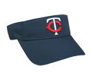 Minnesota Twins - Official MLB Visor for Little Kids Softball League Twins-Visors