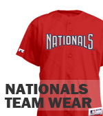 Nationals Little Kids League Gear