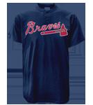 Braves MLB 2 Button Jersey  - MA0180 Braves-MA0180