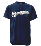 Brewers MLB 2 Button Jersey  - MA0180 Brewers-MA0180