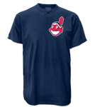 Indians MLB 2 Button Jersey  - MA0180 Indians-MA0180