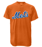 Mets MLB 2 Button Jersey  - MA0180 Mets-MA0180