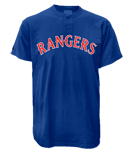 Rangers MLB 2 Button Jersey  - MA0180 Rangers-MA0180