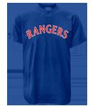Rangers MLB 2 Button Jersey  - MA0180 Rangers-MA0180