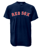Boston Red Sox 2 Button T-Shirt-Official MLB Boston Red Sox-MA081