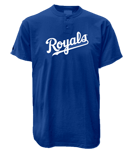 Kansas City Royals 2 Button T-Shirt-Official MLB Kansas City Royals-MA081