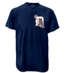 Tigers MLB 2 Button Jersey  - MA0180 Tigers-MA0180
