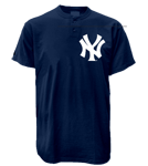 Yankees MLB 2 Button Jersey  - MA0180 Yankees-MA0180