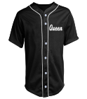 QUEEN WILLIAMS 00 - Custom Heat Pressed Youth Full Button Baseball Jersey - NB4184 - NB41842043 b94c907b912a2622015231154344