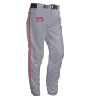 23 LN SMITH Open Bottom Baggy Cut Baseball Pants