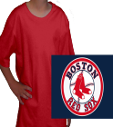BOSTON RED SOXS - Anvil Organic Youth T-Shirt 420B - 420B2035 - Custom Heat Pressed 5ccc0c715f8c1362016185120869