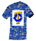 Name-Your-Design Youth Digi Camo Jersey  - 506DY