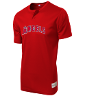 sponsor - Custom Heat Pressed Angels Youth 2-Button MLB Jersey - MLB181 - Angels-1812057 574527ffc02730122015134622697