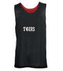 Branson 76ers - Custom Heat Pressed Youth Reversible Wide Shoulder Mesh Jersey-Teamwork Athletic-1480 - 14802053 d7798b187b3027102016193528406