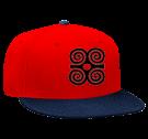 B T B - Snapback Flat Bill Hat - 125-978 - 125-9782051 - Custom Heat Pressed f7e0b656dca83062015122359873