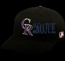 2NOJUK Colorado Rockies - Official MLB Hat for Little Kids Leagues OCMLB300