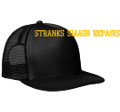 STRANKS SMASH REPAIRS KKKK - Neon Flat Bill Snapback Trucker Cap - DT624 - DT6242050 - Custom Heat Pressed 3a9bbdf72d95297201404724729