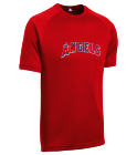12 - Custom Heat Pressed Youth Angels MLB Replica T-Shirt - 5301 - Angels-53012050 42b70654b52e287201544328374