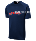FARM BUREAU FARM BUREAU 1 - Custom Heat Pressed Red-Sox Adult MLB Replica T-Shirt - 5300 - Red_Sox-53002038 d784af5da018184201695250843