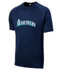 Name Your Design - Custom Heat Pressed Mariners Adult MLB Replica T-Shirt - 5300 - Mariners-53002034 e6c8892457641172016125558702