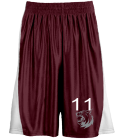 "11 - Youth Basketball Shorts 7"" inseam - Teamwork Athletic - 4463 - 44632023 - Custom Heat Pressed 271e0fe5a50716201611136300"