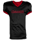 COMMANDOS - Custom Heat Pressed Reversible Football Jersey Adult -1357 - 13572049 d43751e5bb76267201621850955