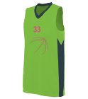 33-33 Ladies Two Color Sleeveless Jersey