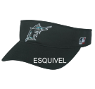 ESQUIVEL Miami Marlins - Official MLB Visor Softball League