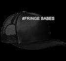 #FRINGE BABES - Neon Flat Bill Snapback Trucker Cap - DT624 - DT6242025 - Custom Heat Pressed e8aa4a798e75292014162712589