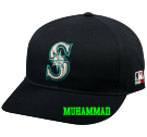 MUHAMMAD JOBE - Seattle Mariners - Official MLB Hat for Little Kids Softball League - Mariners_Baseball_Hat_2752045 - Custom Heat Pressed ef66e5859b212552015171930921