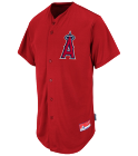 ANGEL BRECEDA  - Custom Embroidered Angels Full Button Baseball Jersey  - Adult - M6840 - Angels_Full_Button_Jersey_M68402041 eea74c4859ea233201512746212