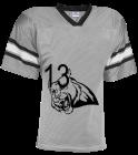 hjhjf - Custom Heat Pressed Adult Team Football Jersey - Teamwork Athletic - 1324 - 13242046 6f0d70c87f38239201491419651
