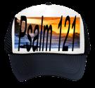 Psalm 121 - Otto Trucker Hat 32-468 - 32-4682050 - Custom Heat Pressed 976bdc53a45c2882014195521491