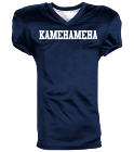 KAMEHAMEHA - Custom Screen Printed Reversible Football Jersey Adult -1357 - 13572057 da7b2af6c82d30112016123135