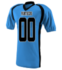 MITCHELL - Custom Heat Pressed Youth Two Color  Raglan Football Jersey  - 9531 - 95312033 fecdae14586d1342016133219566