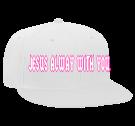 JESUS ALWAY WITH YOU L.G.H.A. - Snapback Flat Bill Hat - 125-978 - 125-9782029 - Custom Heat Pressed de1e968b63b31122016164643362