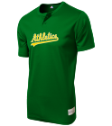 OJAI-VALLEY-LITTLE-LEAGUE-OJAI-VALLEY-LITTLE-LEAGUE Youth Athletics Two-Button Jersey - Athletics-MAIY83