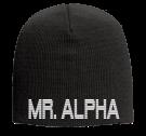 "MR. ALPHA - 9"" Beanie Otto Cap 82-481 - 82-4812054 - Custom Heat Pressed a82f1aa828a4301020148468140"