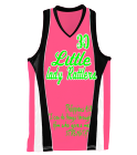 Lady-Rattlers-Pink DISCONTINUED Girls Wicking Mesh Basketball Jersey - 514